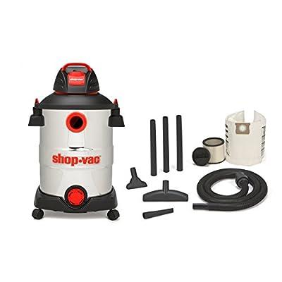 Shop-Vac 5926211 12-Gallon 6 Peak HP Stainless Steel Wet Dry Vacuum