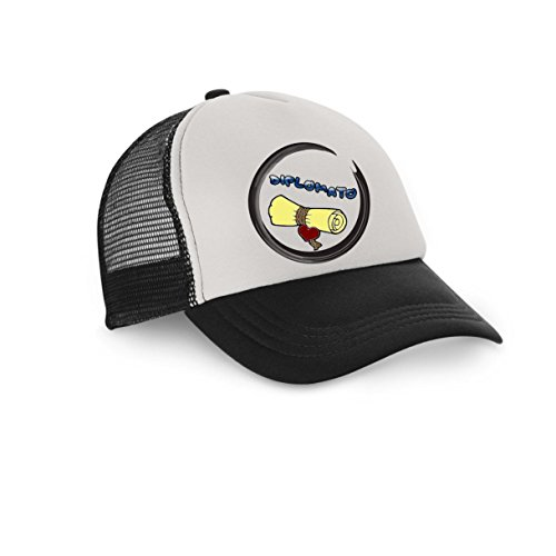 pazza idea - Gorra de béisbol - para hombre Negro negro Talla única
