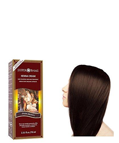 amazoncom surya brasil henna dark brown cream 237 ounce hair hennas beauty