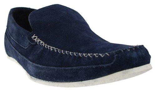 Ikon Tyson Homme Chaussures à enfiler en Azur SM 1566.