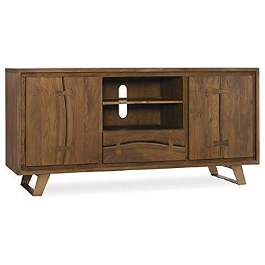 Hooker Furniture Transcend 64  TV Stand in Light Cinnamon