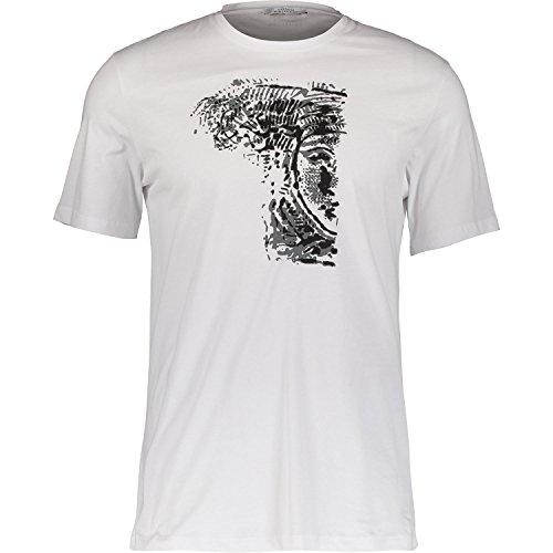 Versace Collection White Half Medusa T-shirt - White T-shirt Chain