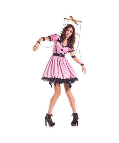 [Pink Marionette Costume - Medium - Dress Size] (Marionette Girl Costume)