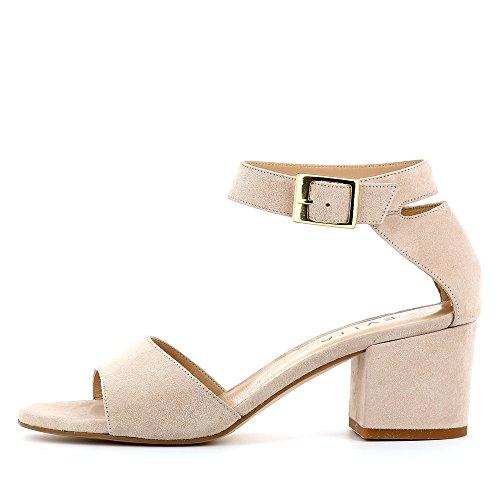 Evita Shoes Mariella - Sandalias de vestir de Piel para mujer altrosa