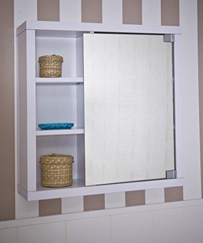 Intradisa 8910 armario de ba o con 1 puerta de espejo - Armarios bano amazon ...