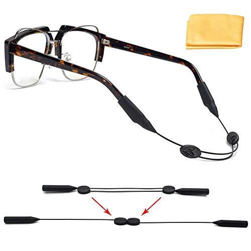 - Adjustable Sunglasses Strap No Tail, Eyewear Retainer, Anti-Slip Sport Eyeglass Straps, Universal Glasses Straps Size: 9