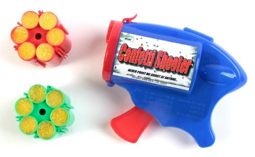 UPC 897368002087, R Ideas 6-Shot Confetti Shooter with Refills