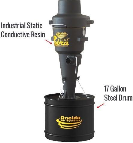 Oneida Air Systems XCKM010000 Dust Cobra Cyclonic Hepa Shop Vacuum