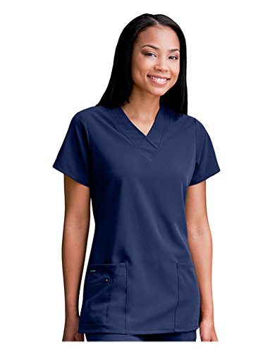 Classic Fit Collection by Jockey Women's Tri Blend Solid Scrub Top XXXXX-Large New (Fit Collection)
