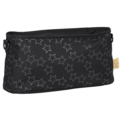 Lassig Womens Casual Buggy Baby Organizer Reflective Star, Designed for Moms, Black
