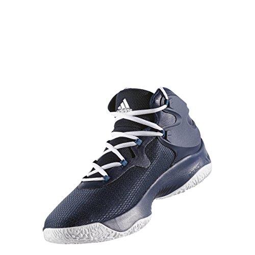Adidas Originals Mens Esplosivo Rimbalzo Scarpa Da Running Collegiale Blu Navy-argento Metallizzato