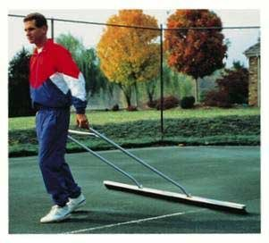 Lee Bocce/tennis Court 7' Drag Brush-Handle Model by Lee