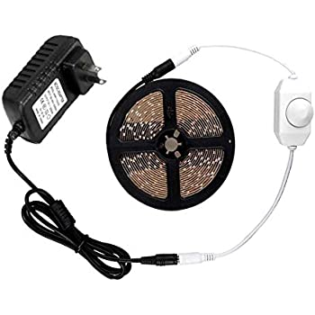 Amazon autai dimmable led light strip kit with power supply and autai dimmable led light strip kit with power supply and dimmer 300 leds 2835 164 aloadofball Images