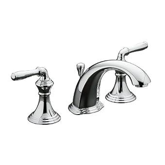 Kohler K-394-4-CP Devonshire Widespread Bathroom Faucet (Polished Chrome)