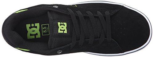 DC Hombre Muesca SD Skate zapatos Negro/Lime
