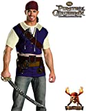 Easy Jack Sparrow Costume - Adult L/XL