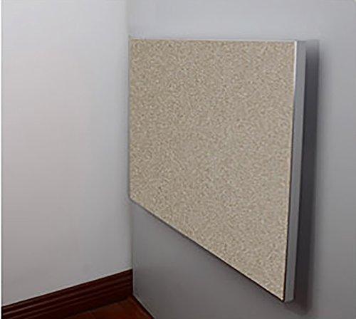 ZJM スクエア折りたたみダイニングテーブルウォールテーブル壁掛けドロップリーフテーブルキッチンテーブルコンピュータデスク ( 色 : ゴールド , サイズ さいず : 45×45 cm 45×45 cm ) B0793LZ61J 45×45 cm 45×45 cm|ゴールド ゴールド 45×45 cm 45×45 cm