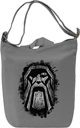 Odin Borsa Giornaliera Canvas Canvas Day Bag| 100% Premium Cotton Canvas| DTG Printing|