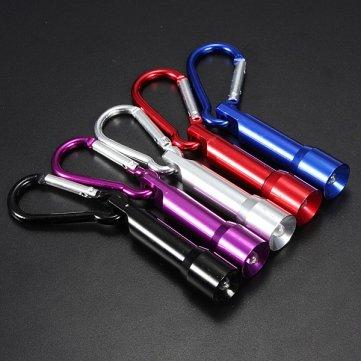 Alta calidad 10LM Bujía estilo mini portátil LED llavero ...