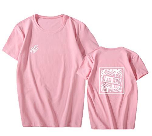 a2e60571d babyHealthy Kpop Stray Kids I Am WHO T-Shirt Bangchan Felix Hyunjin Jeongin Minho  Tee