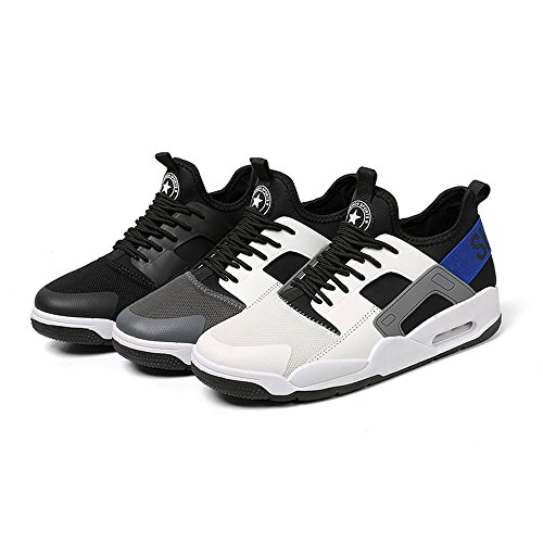 Breathable 015 Men's Men Lightweight up Lace Sport Running for Shoes Shoes FZDX Casual White qRSXO4Xw
