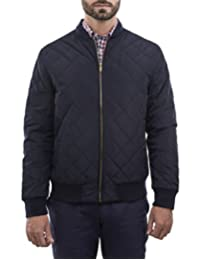 Chamarra Quilted Bomber Marino