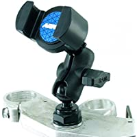 BuyBits Yoke 40 Motorcycle Cap Nut Mount & RoadVise Phone Holder for iPhone, Galaxy S3 S4 S5 S6, Galaxy Note, HTC ONE fits Honda