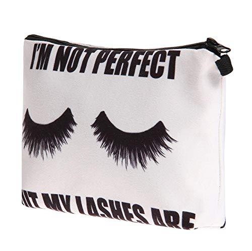 Pocciol Everyone Love Bags, 3D Digital Newly Lovely Cosmetic Bag Multi-Function Storage Bag Clutch Bag (B-Fresh) by Pocciol (Image #1)