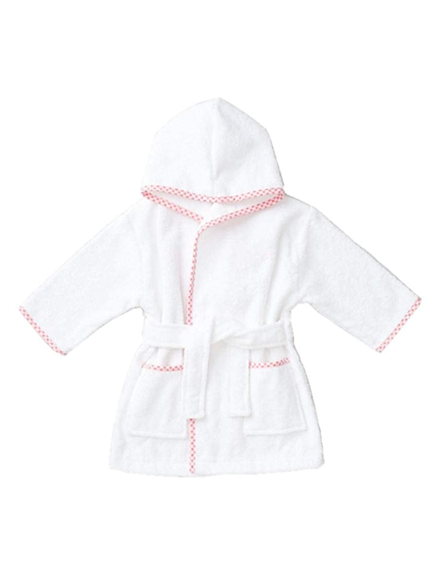 Cimaya Toddlers and Little Kids Terry Cotton Bathrobe Boys and Girls Hooded Sleep Robe