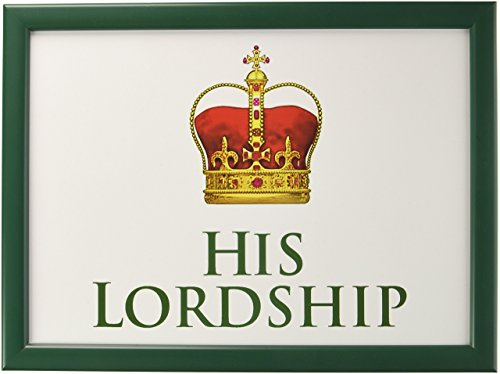 The Leonardo Collection LP23599 His Lordship Historic British Royal Crown TV Dinner Lap Tray, Multicolor