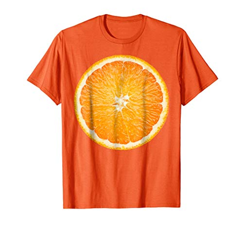 Orange Fruit Costume Cute Cheap Funny Halloween Gift T-shirt -