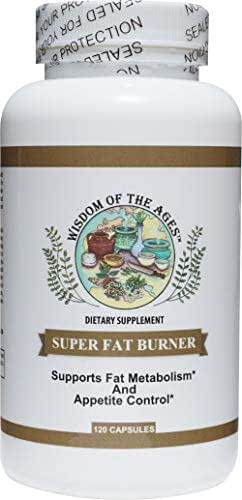 Super Fat Burner All Natural Complete Weight Control Complex Promotes Fat Metabolism and Appetite Control 120 Capsules