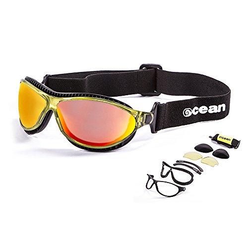 306607a68d73ce Ocean Sunglasses - tierra de fuego - lunettes de soleil polarisées - Monture    Vert Transparent
