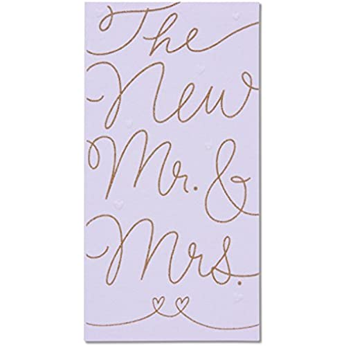 American Greetings Money Holder Wedding Card with Glitter Sales