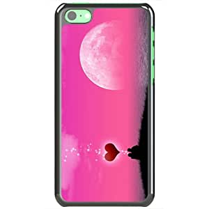Apple iPhone 5C Case EMO Love Love Night Of Love Normal Love Black