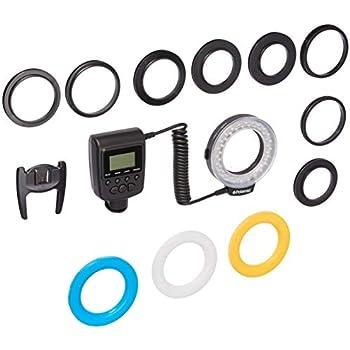Amazon Com Polaroid 48 Macro Led Ring Flash Plmrfu
