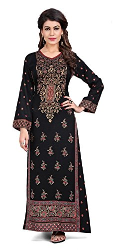 TrendyFashionMall Womens Printed Kaftans Maxi Dress Multiple Colors & Designs