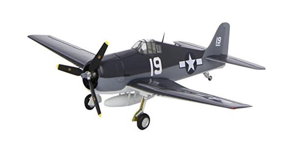 Easy Model f4u-1 Corsair vf-84 USS Bunker Hill 1945 listo modelo 1:72 soporte