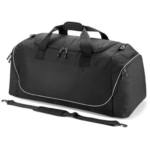 Quadra Unisex Jumbo Sporttasche QS88 Black/Light Grey