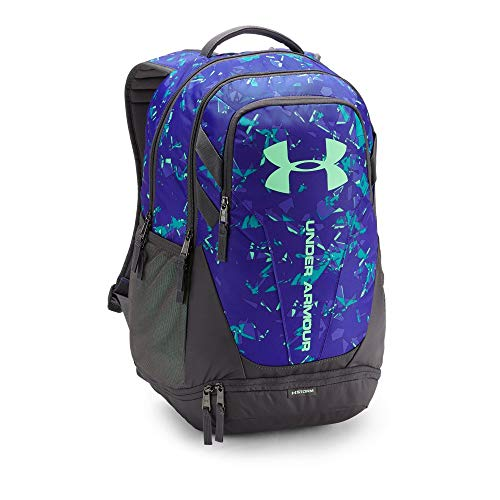 Under Armour Hustle 3.0 Backpack, Green Typhoon (375)/Green Typhoon, One Size ()