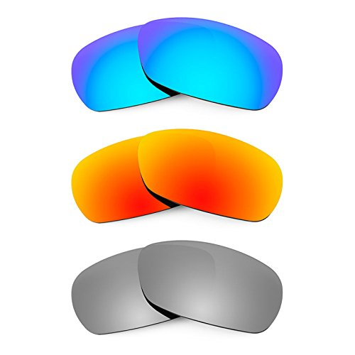 Revant Replacement Lenses for Smith Method 3 Pair Combo Pack - Sunglasses Smith Threshold