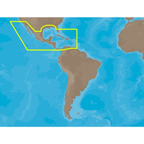 C-Map Max NA-M027 Central America & The Caribbean SD Card Cartography Consumer Electronics - Central Digital Map