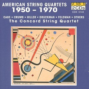 American String Quartets 1950-1970