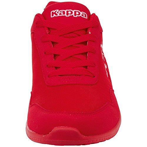 Kappa Rot Sneaker Follow Erwachsene 2010 OC Unisex White Red XnrXUq