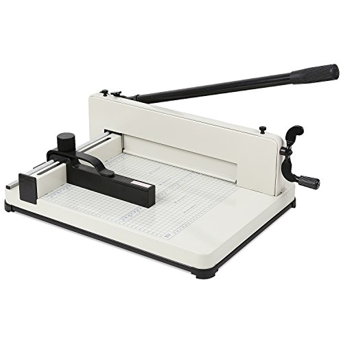 FEMOR A4 Heavy Duty Guillotine Paper Cutter Trimmer 300 Sheets Capacity for...