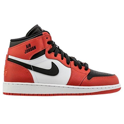 Nike 1 RETRO HIGH BG boys basketball-shoes 705300-800_4.5...
