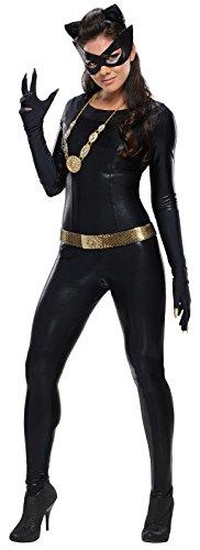 Rubie's Grand Heritage Catwoman Classic TV Batman Circa 1966, Black, Small (Halloween Express Catwoman Costume)