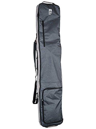 Rome Snowboards Roadie Snowboard Travel Bag, Black, One (162cm Snowboard)