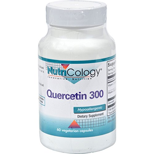 2Pack! NutriCology Quercetin 300 - 60 Capsules by Antioxidants