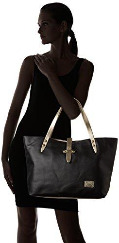 Le Temps des Cerises Indiana _ Ltc3r5d - capazo Mujer Noir (Noir)